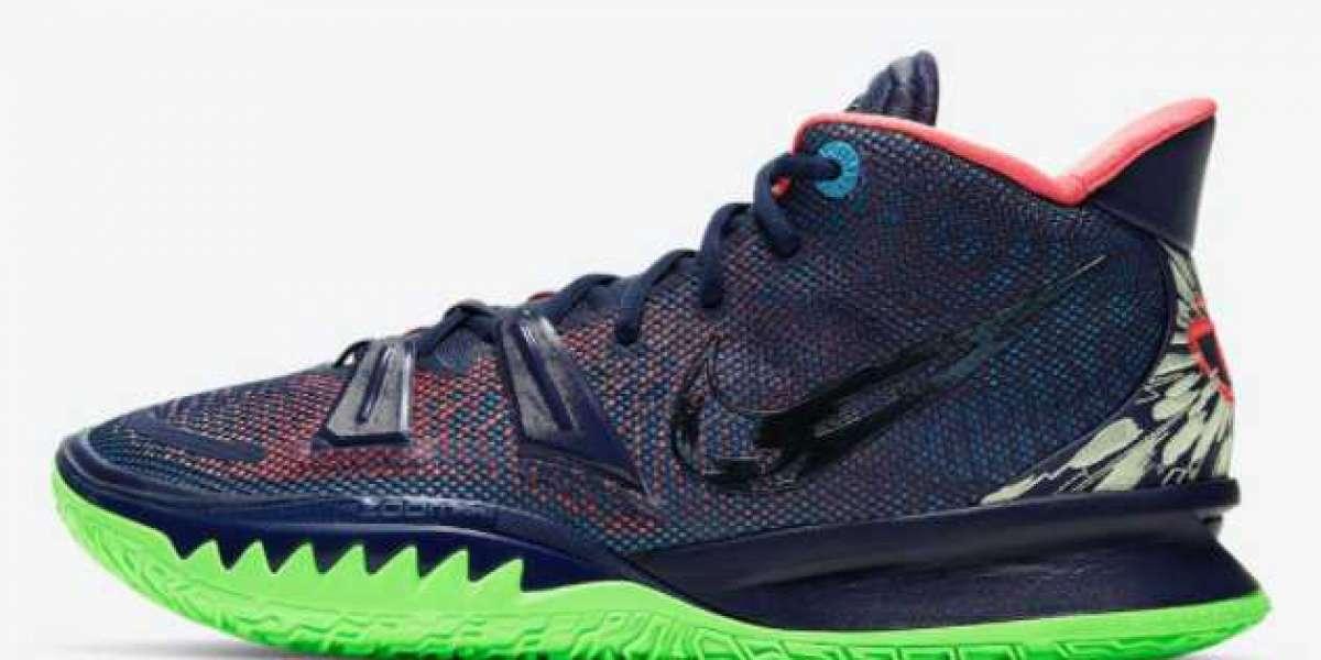 "442960-100 Air Jordan 7 GS ""Chlorine Blue"" Basketball Shoes"