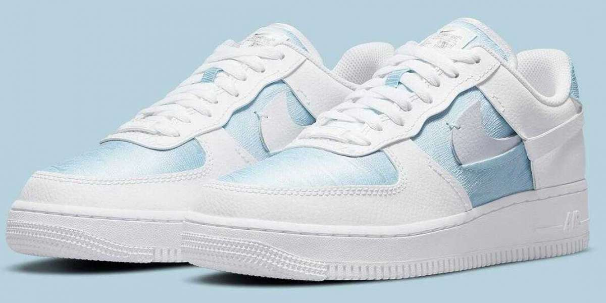 2021 Nike Air Force 1 LXX Coming With A Chilly Glacier Blue