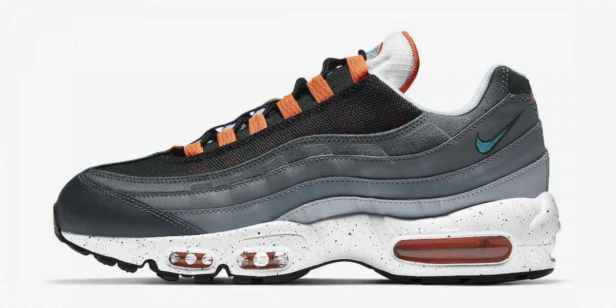 Nike Air Max 95 Grey Orange CZ0191-001 2021 New Released