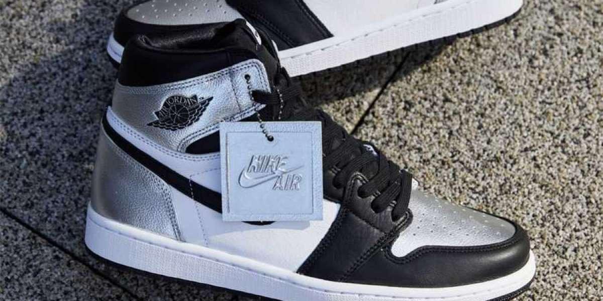 """Air Jordan 1 High OG """"Silver Toe"""" 2021 New Released CD0461-001"""