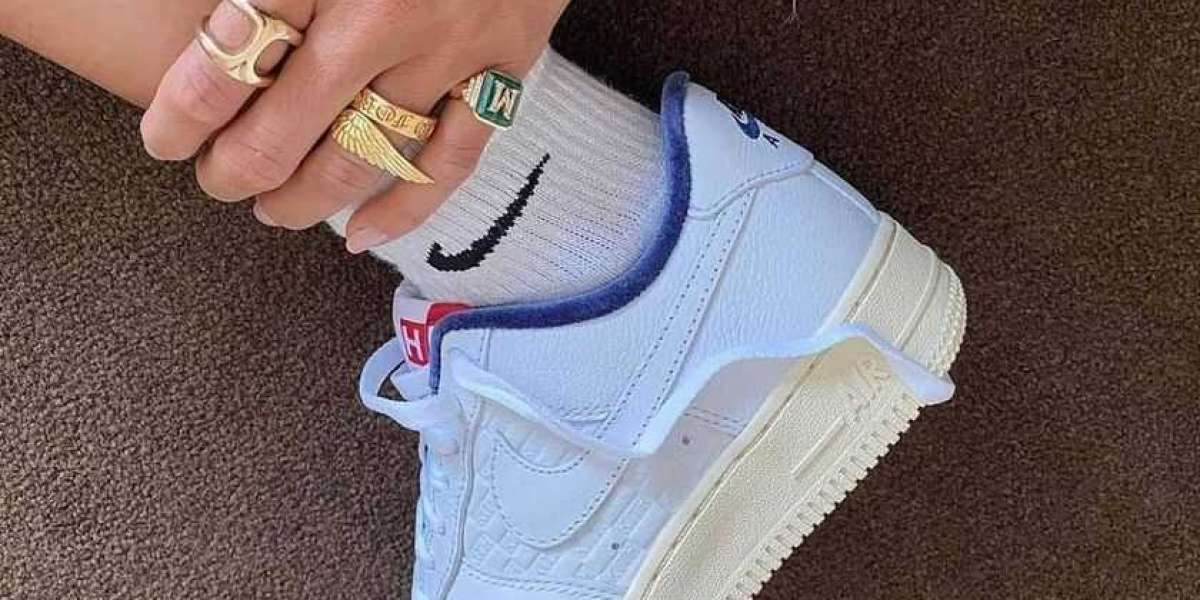 """CZ7927-100 KITH x Nike Air Force 1 Low """"Paris"""" Is Coming Soon !"""