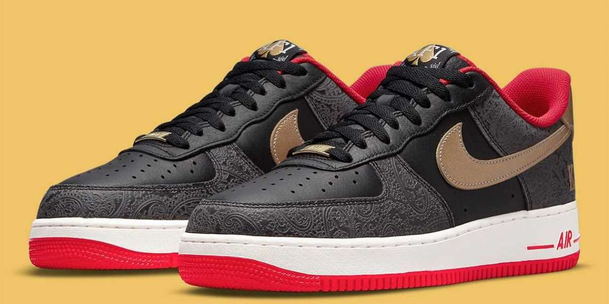 "The Nike Air Force 1 Low ""Spades"" DJ5184-001 Fast Shipping"