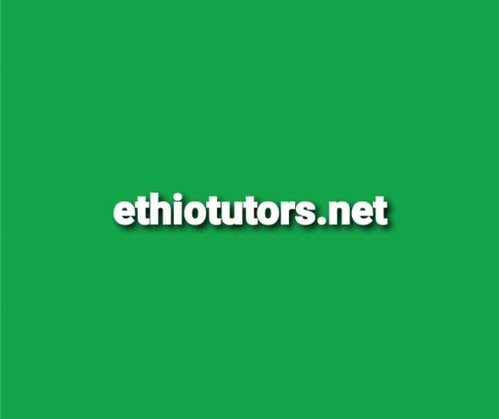 Ethiotutors.net Profile Picture
