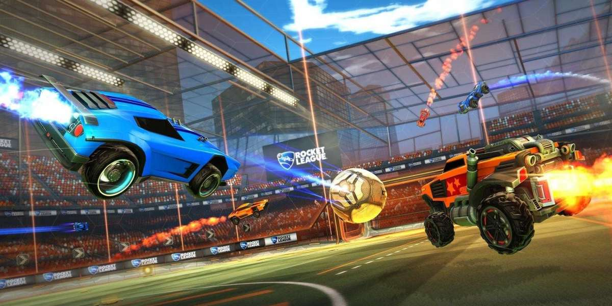 Rocket League is football performed through cars