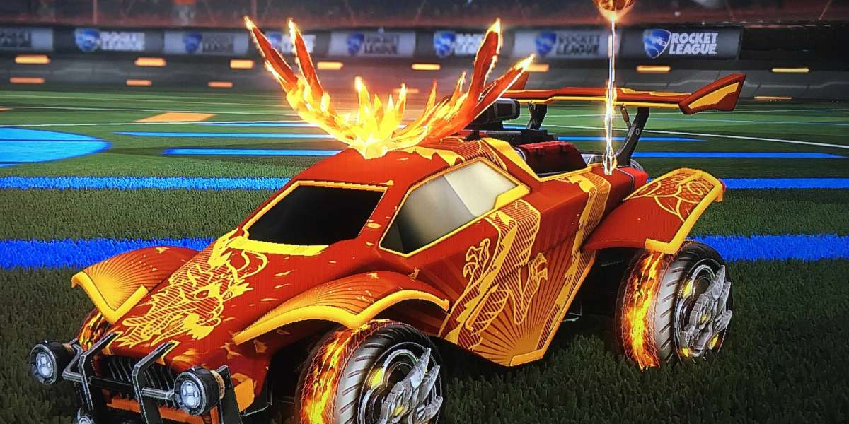 The annual Lucky Lanterns event is live again in Rocket League
