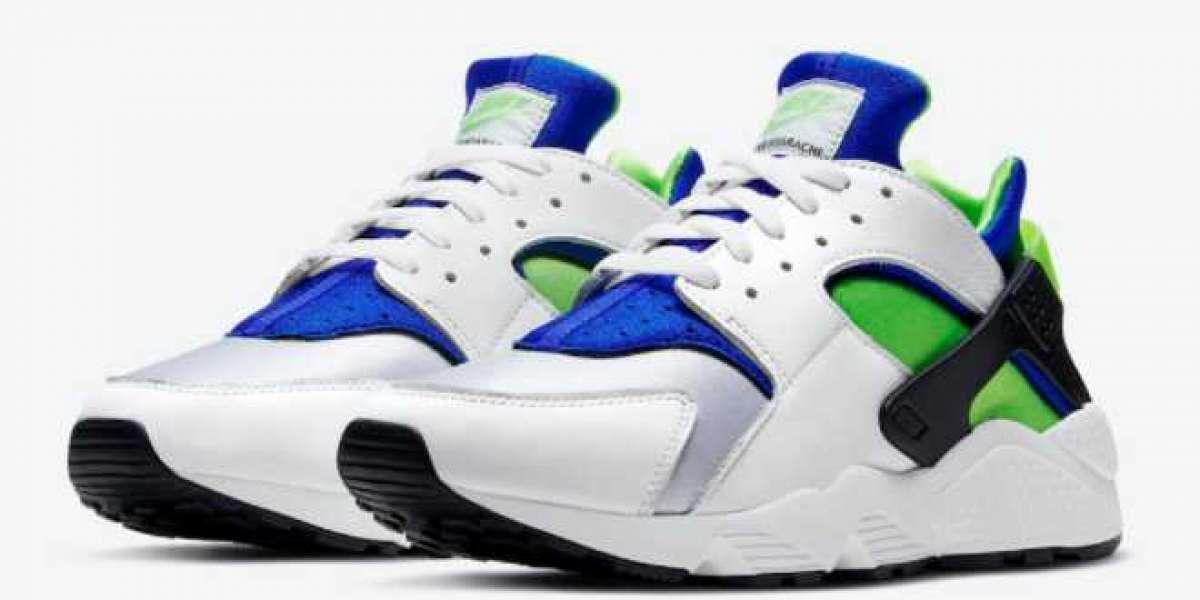 """Nike Air Huarache OG """"Scream Green"""" Men's Running Shoes DD1068-100"""