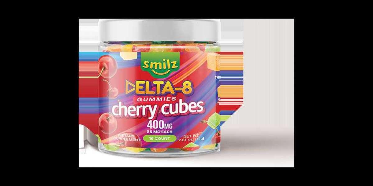 Smilz Delta 8 Gummies Cherry Cubes benefits