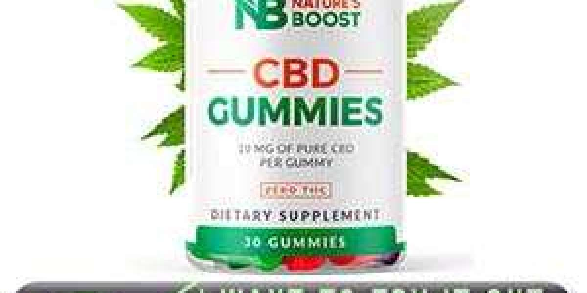 Natures Boost CBD Gummies