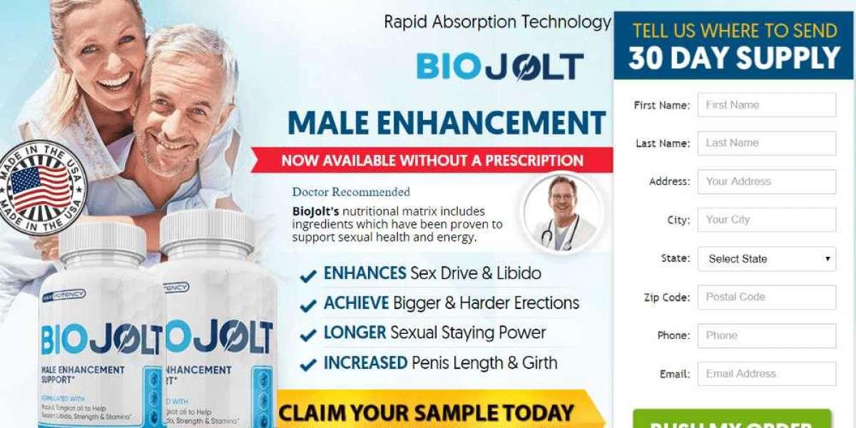 What Is Bio Jolt MALE ENHANCEMENT & How Much It Safe