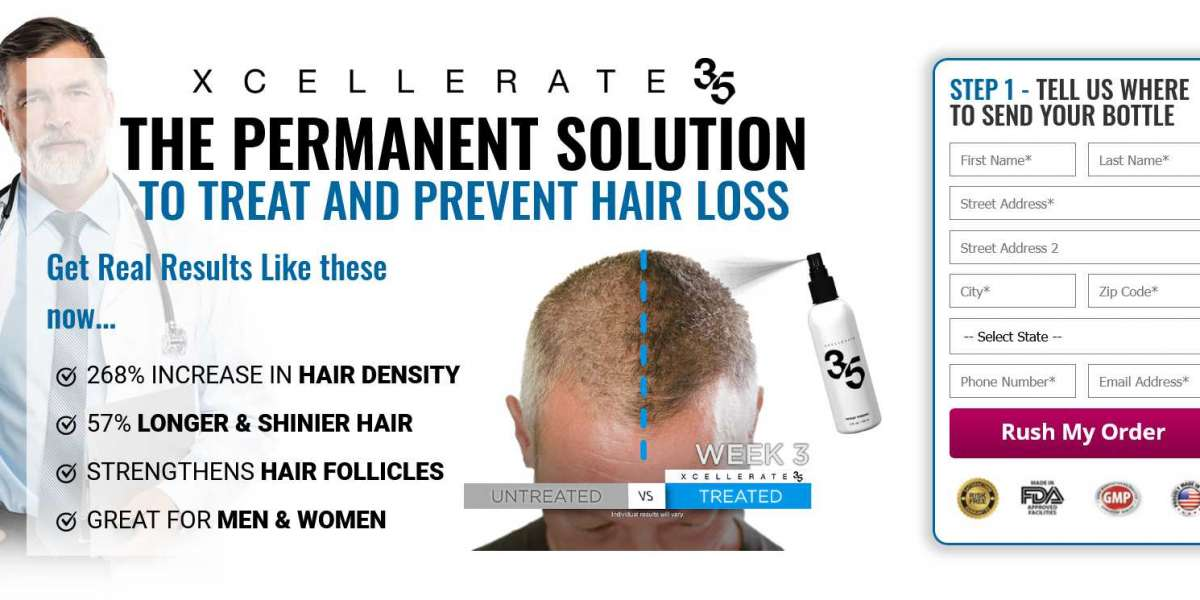 Xcellerate35 Hair Growth