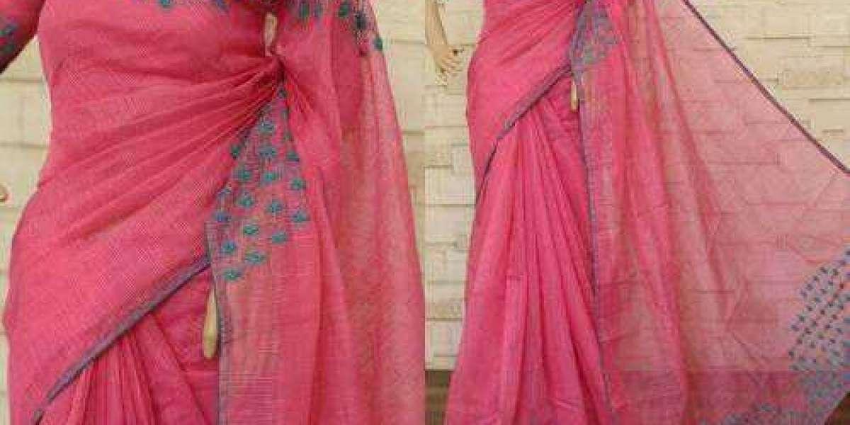 Aari work sarees