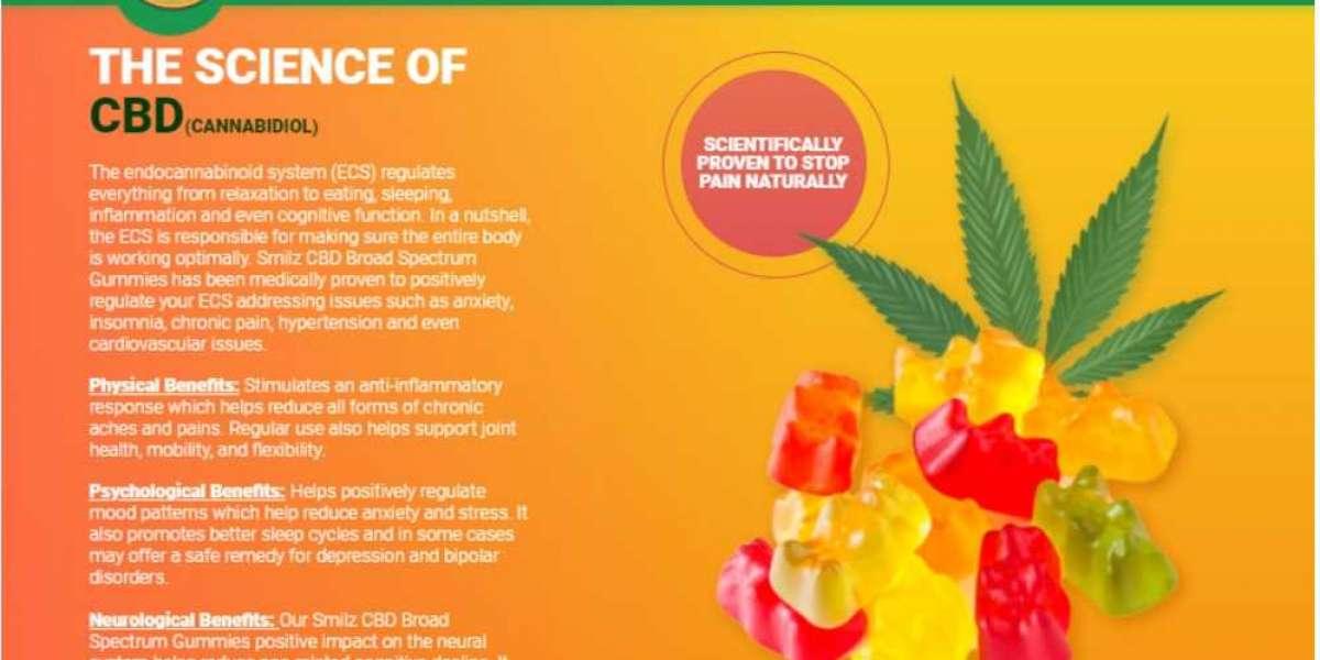 Smilz CBD Gummies : Reviews, Pain Relief, Price Benefits and Buy!