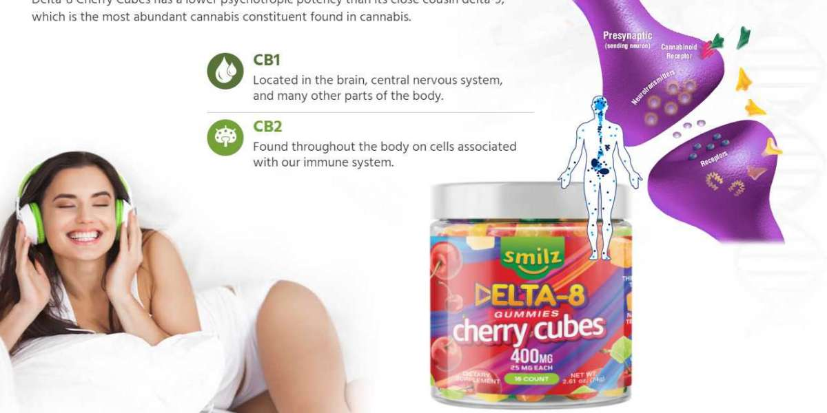 What does Smilz Delta 8 Gummies Cherry Cubes mean and where does it come from?
