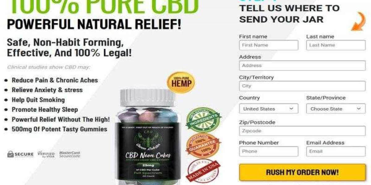 Green Lobster CBD Gummies || Relieve Anxiety, Benefits And Price!