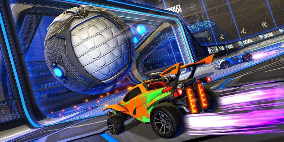 Rocket Pass objects blueprints and Rocket League branded DLC