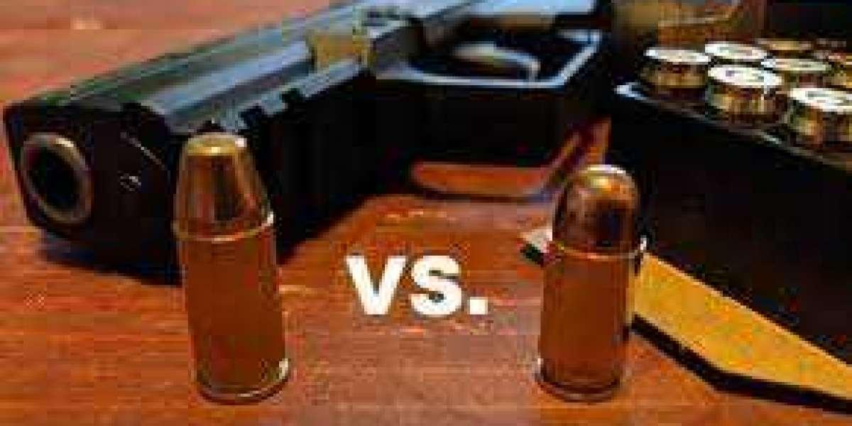 A Comparison 9mm Vs. 380 Ammo
