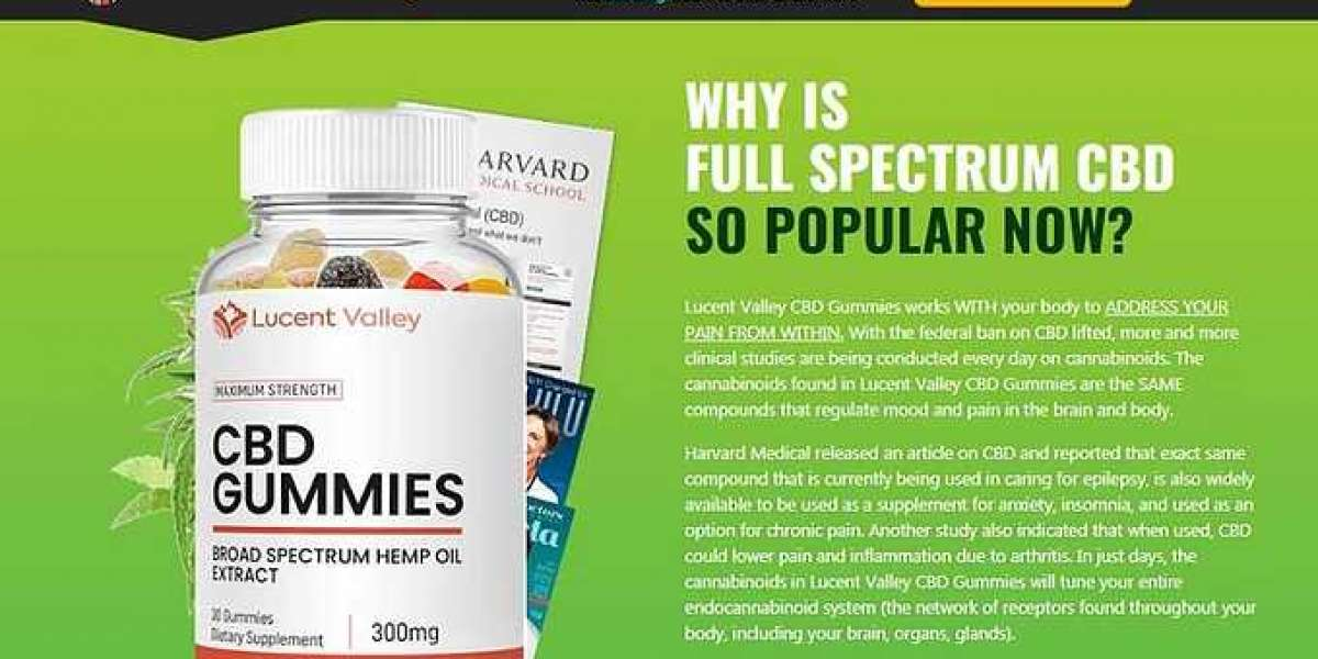What Are The Lucent Valley CBD Gummies – Is It Product Actually Worthy & Exist?