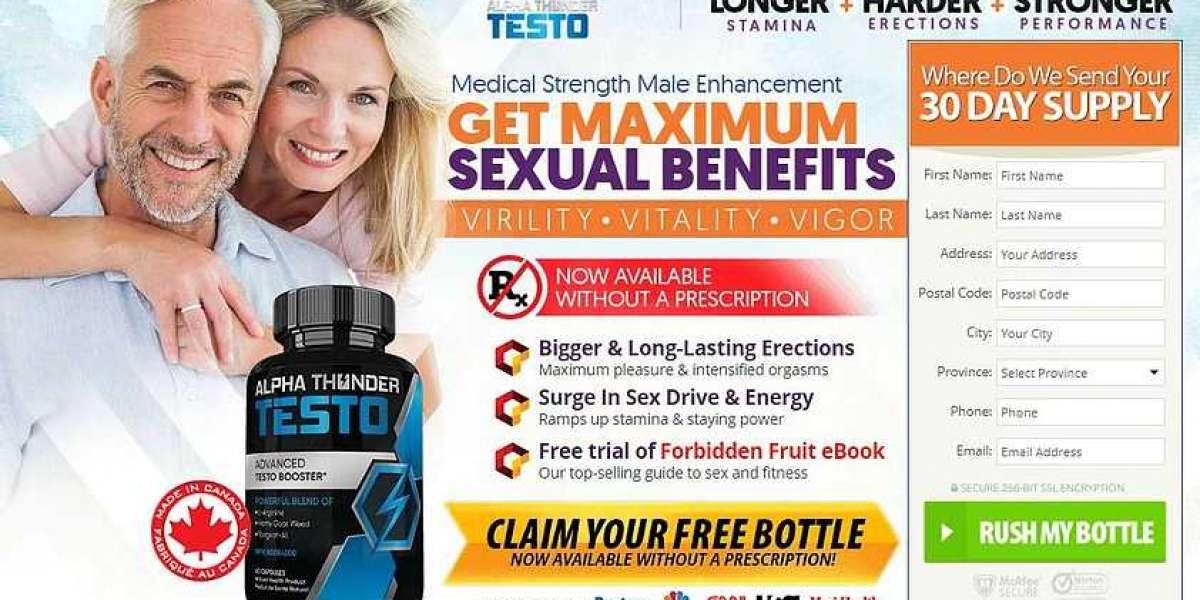 Alpha Thunder Testo Canada (Official) – Hoax Or Legit