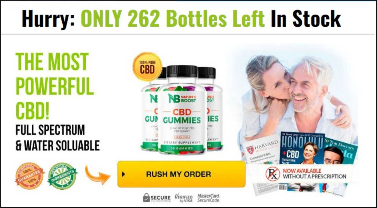 Natures Boost CBD Gummies Profile Picture