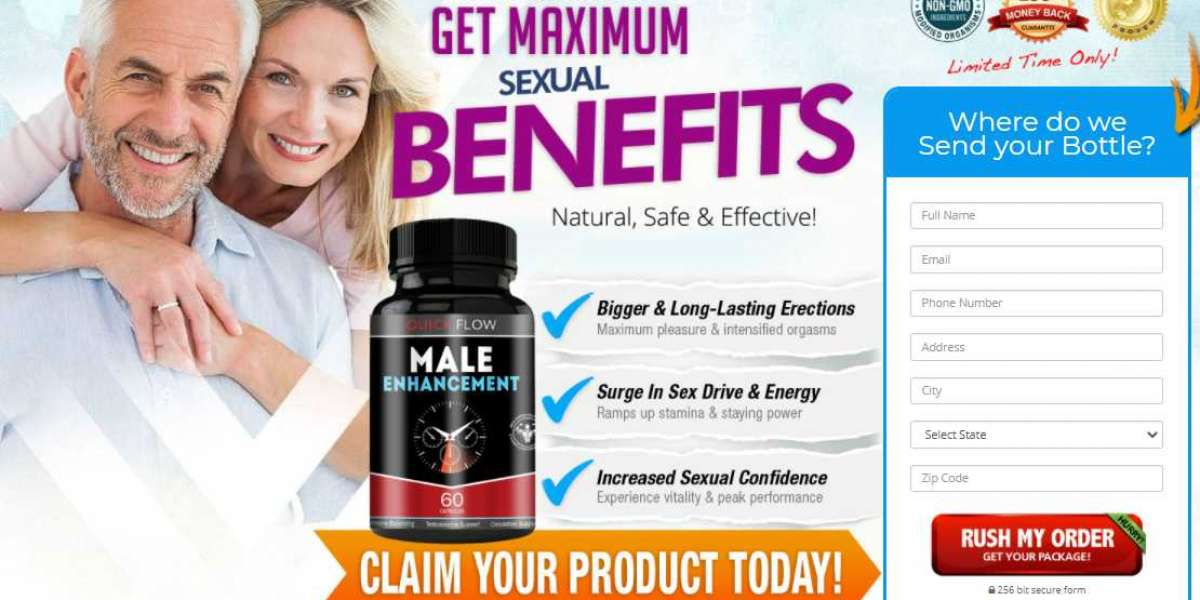 What is the portion of the Quick Flow Male Enhancement?