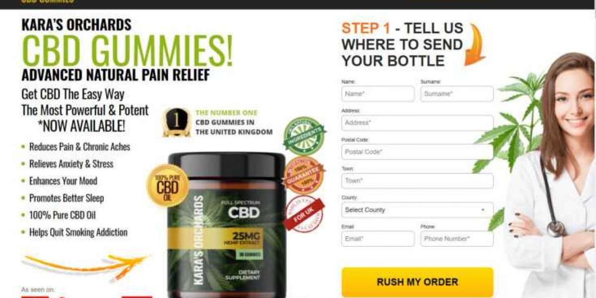 Kara's Orchards CBD Gummies UK: Price, Benefits, Review and Side Effects