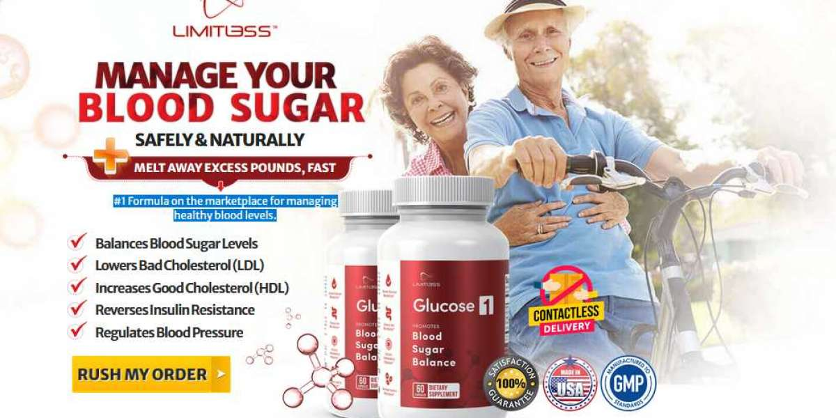 Limitless Glucose1 Reviews [Glucose1] Do you Suffer from Blood Sugar & Pressure!