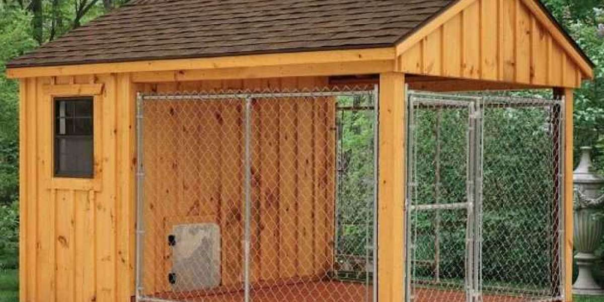 Wooden Doghouses - Where to Place Your Dog House