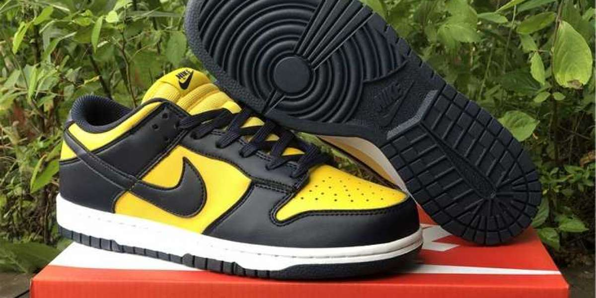 The Nike Dunk Low Michigan New Released