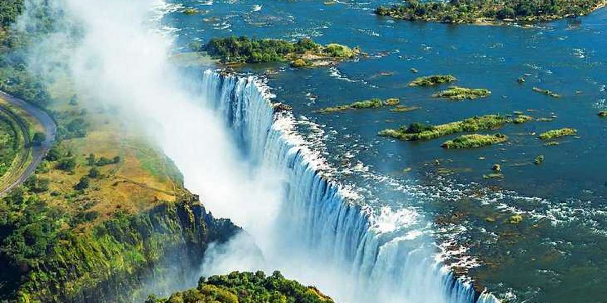 All about the Victoria Falls: The waterfall on the Zambezi River in southern Africa