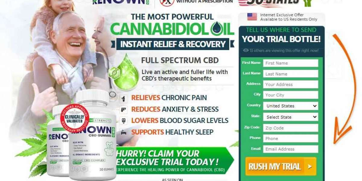 Does Renown CBD Gummies Actually Work OR Scam?