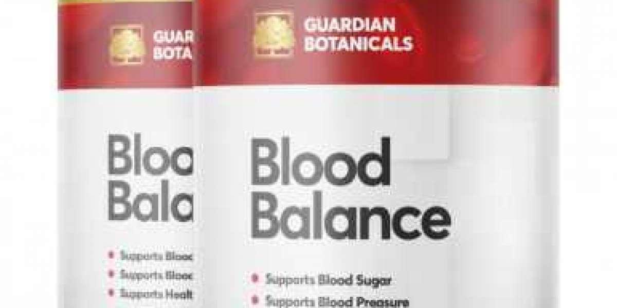 Guardian Botanicals Blood Balance Capsules : Control Blood Sugar Level With Natural Way!