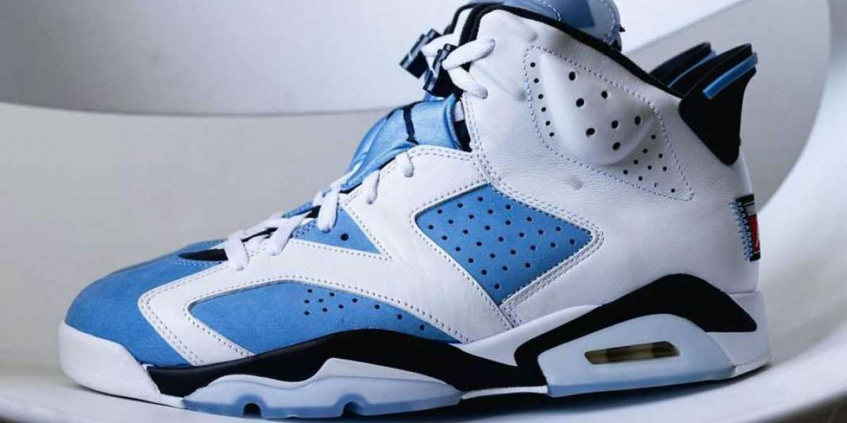 CT8529-410 Air Jordan 6 UNC 2022 to release on March 5th