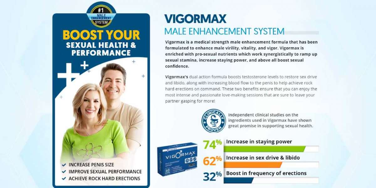 Enhancement Increased Penis Length & Girth VigorMax Male