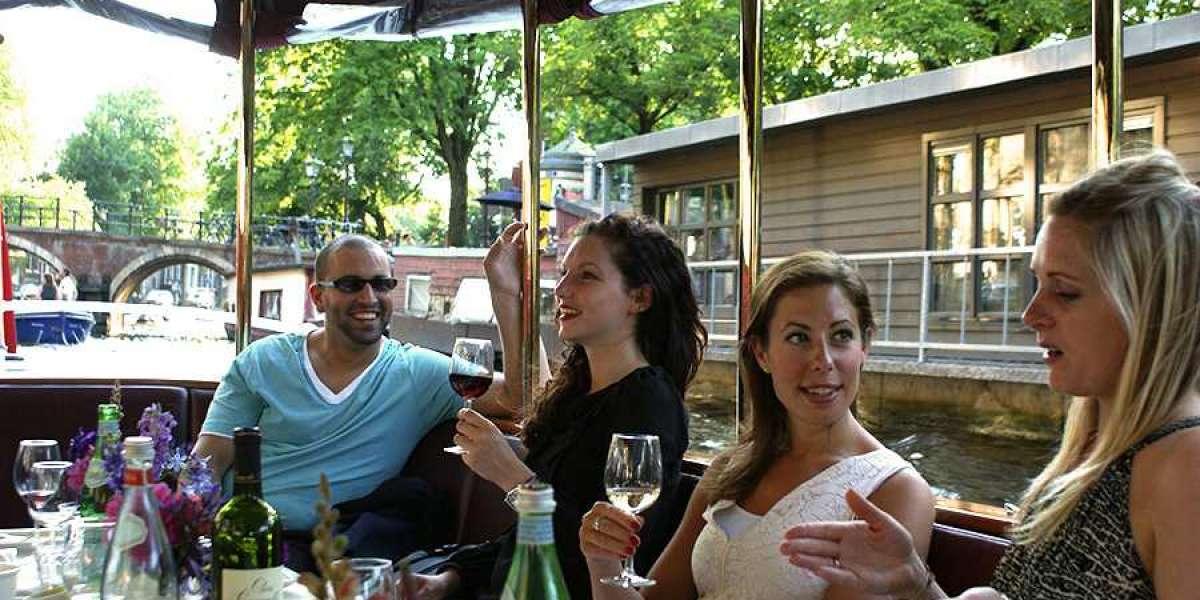 Dinner Cruise Buffet Amsterdam