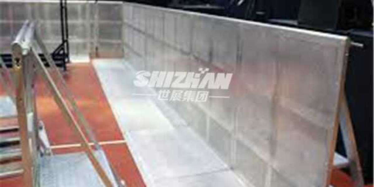 What is Aluminum stage barrier?