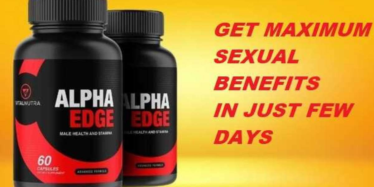 Alpha Edge Male Enhancement Reviews - Shocking Truth Revealed! Is It Works?