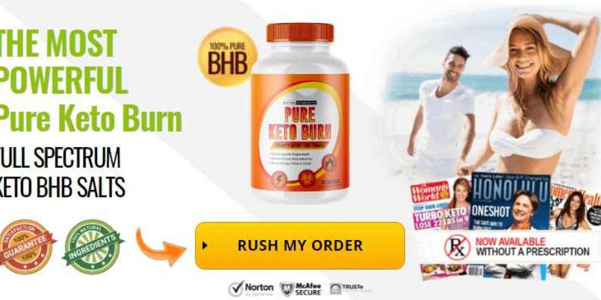 Pure Keto Burn-Burn Stubborn Fat To Get Attractive Body Shape!