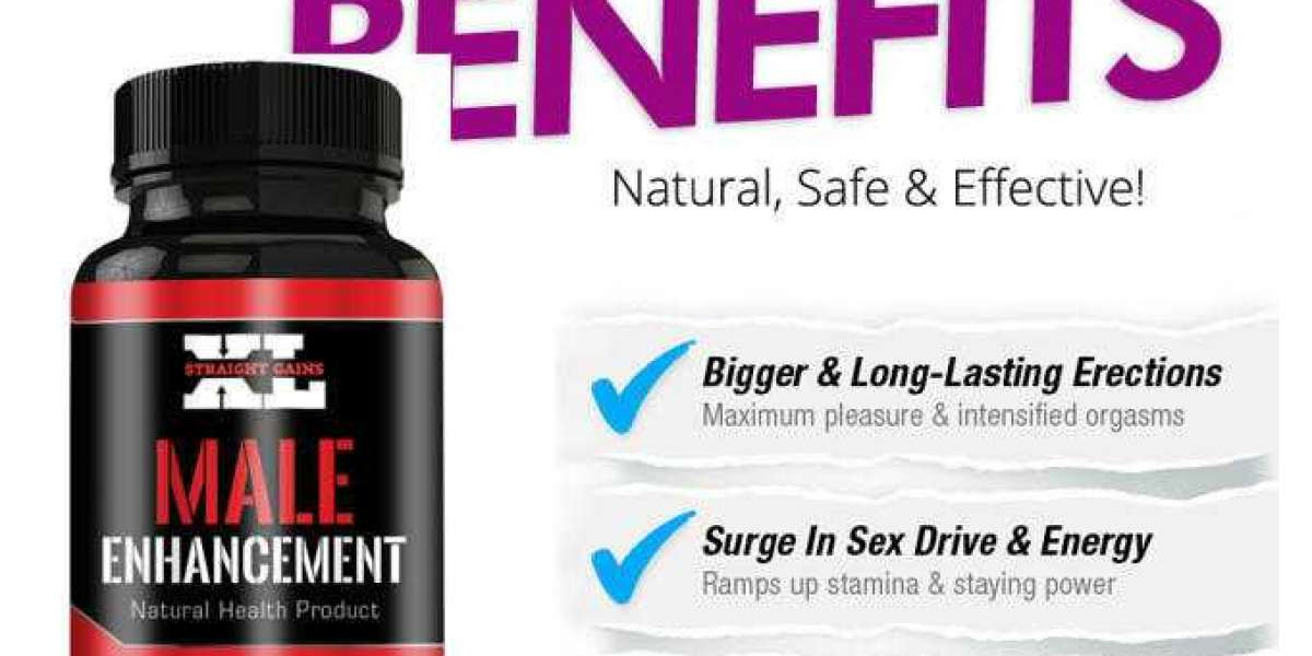 Benefits of Straight Gains XL Male Enhancement.