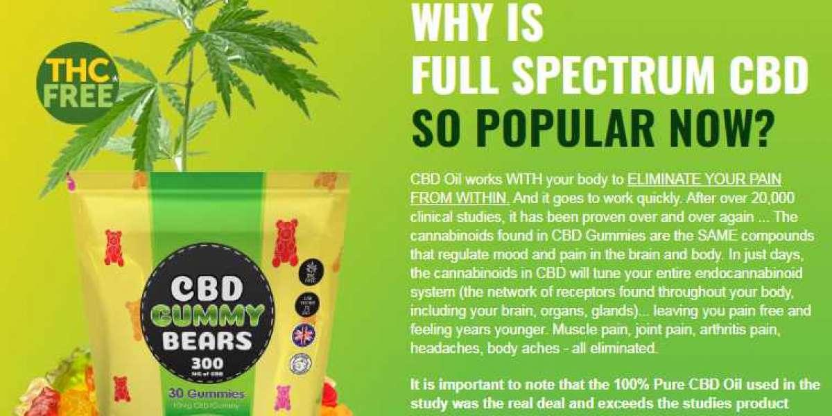 Russell Brand Bears CBD Gummies United Kingdom for better health