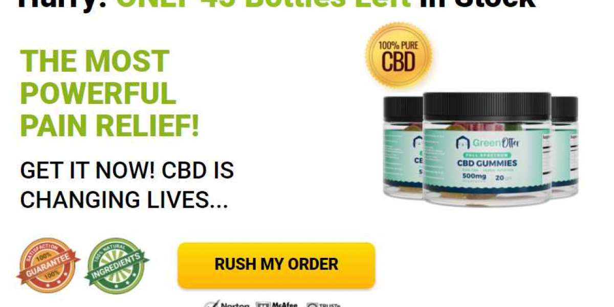 Green Otter CBD Gummies Reviews   Read Must Benefits, Price, Cost, Side Effects, Ingredients?