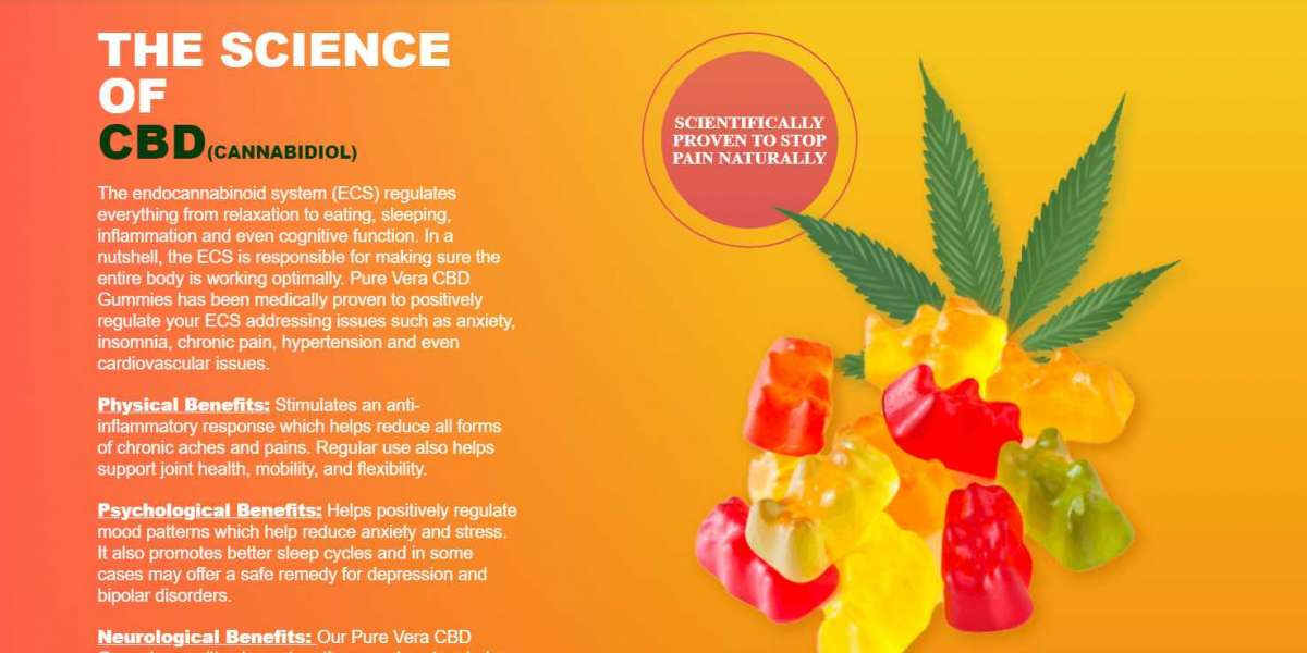 Pure Vera CBD Gummies Official Updated Critical October Review Report
