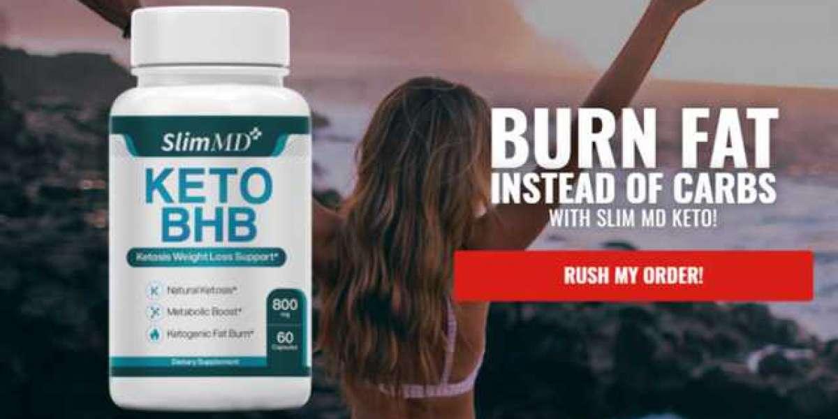 Slim MD Keto BHB Weight Loss Pills